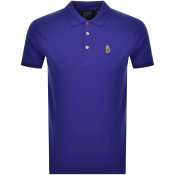 Luke 1977 New Mead Polo T Shirt Blue